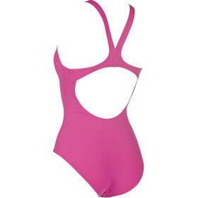 arena Solid Swim Pro One Piece Swimsuit Women fresia rose-white